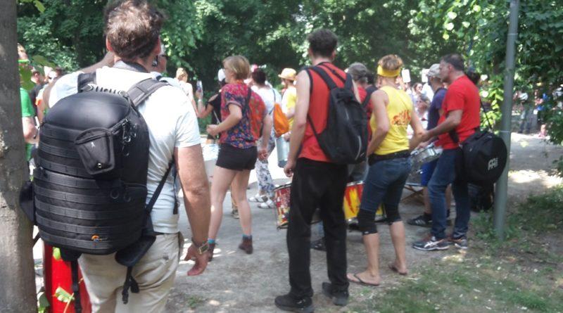 Trommler Tiergarten