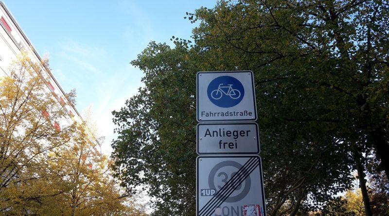 Fahrradstrasse Kreuzberg