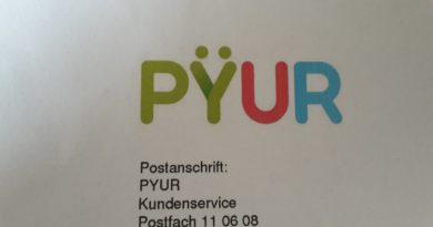 Pyur Logo Briefkopf