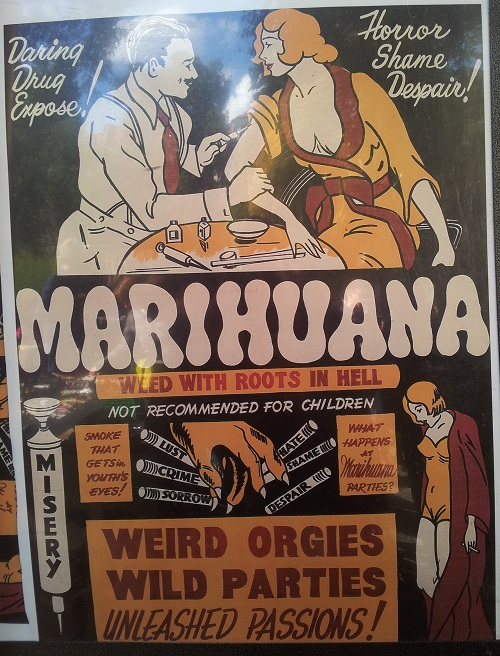 Anti-Cannabis-Plakat