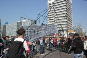 Demokonstrukttion Mietenwahnsinn Demo April 2019