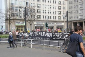 Demoschilder 20 Mietenwahnsinn Demo April 2019