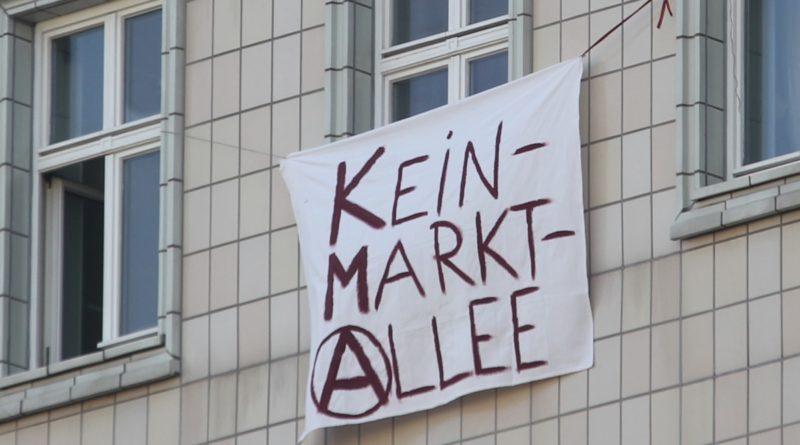 Hausplakate 1Mietenwahnsinn Demo April 2019