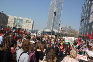 Kundgebung Alex Mietenwahnsinn Demo April 2019