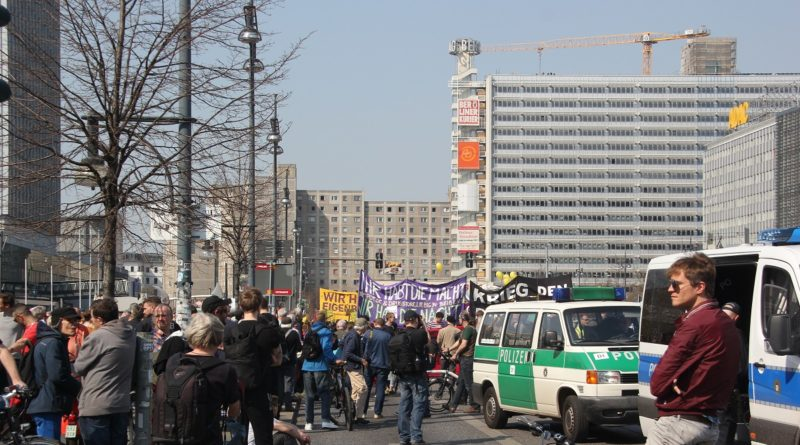 Startposition Mietenwahnsinn Demo April 2019