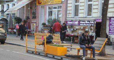 Parklets Bergmannstrasse Kreuzberg