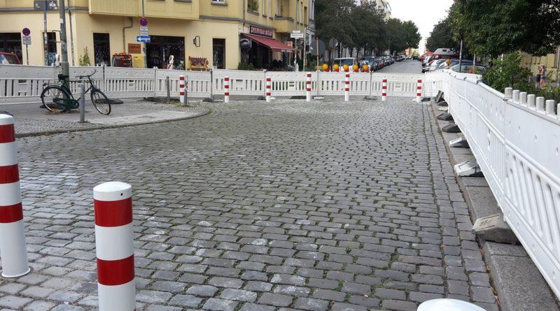 Samariterstrasse Verkehrsberuigung