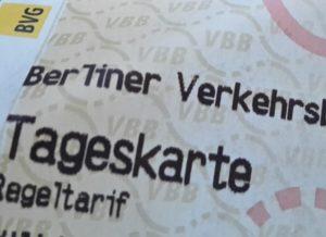 Tagesticket BVG