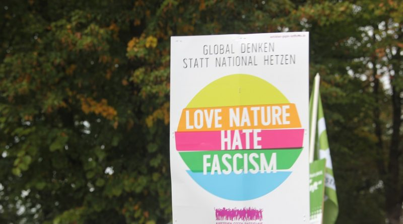 Love Nature hate Fascism