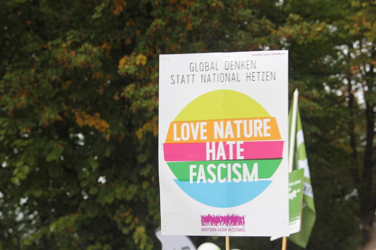 Love Nature hate Fascism