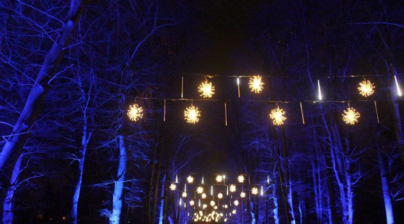 Christmas Garden Berlin Schneeflocken
