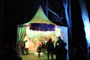 Christmas Garden Berlin wunschzelt