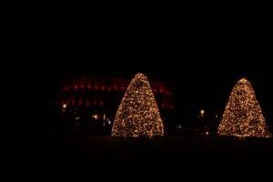 Christmas Garden Baumleuchtet