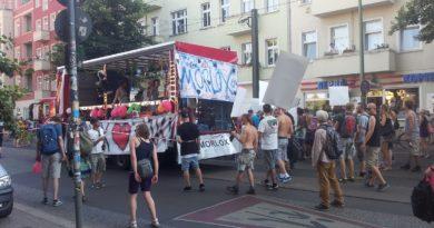 Demo gegen Clubsterben Morlox