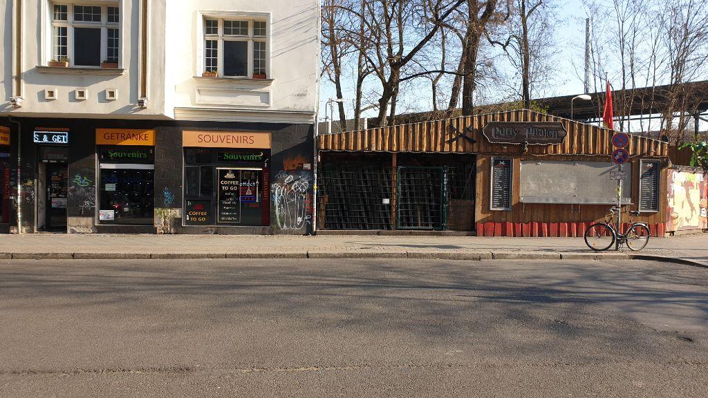 Corona - Leere Strassen Friedrichshain