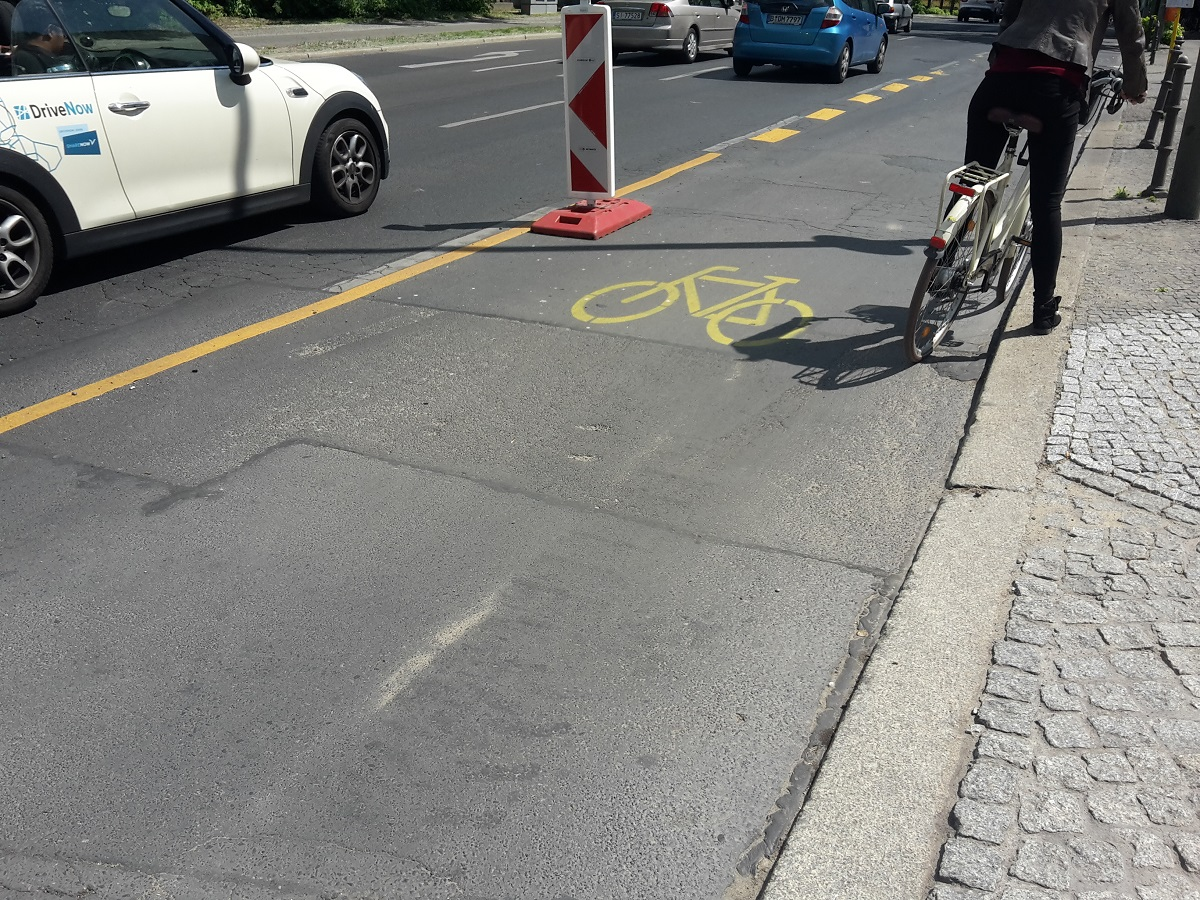 Pop-up Radweg Kreuzberg