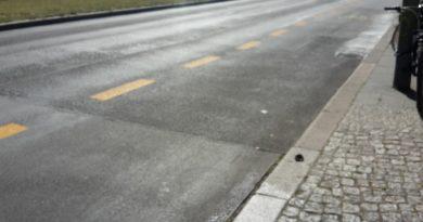 Pop-Up-Radweg Friedrichshain