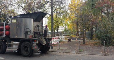 Bauarbeiten Goerlitzer Park