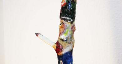 Der-Raucher Pareidolie Kunst